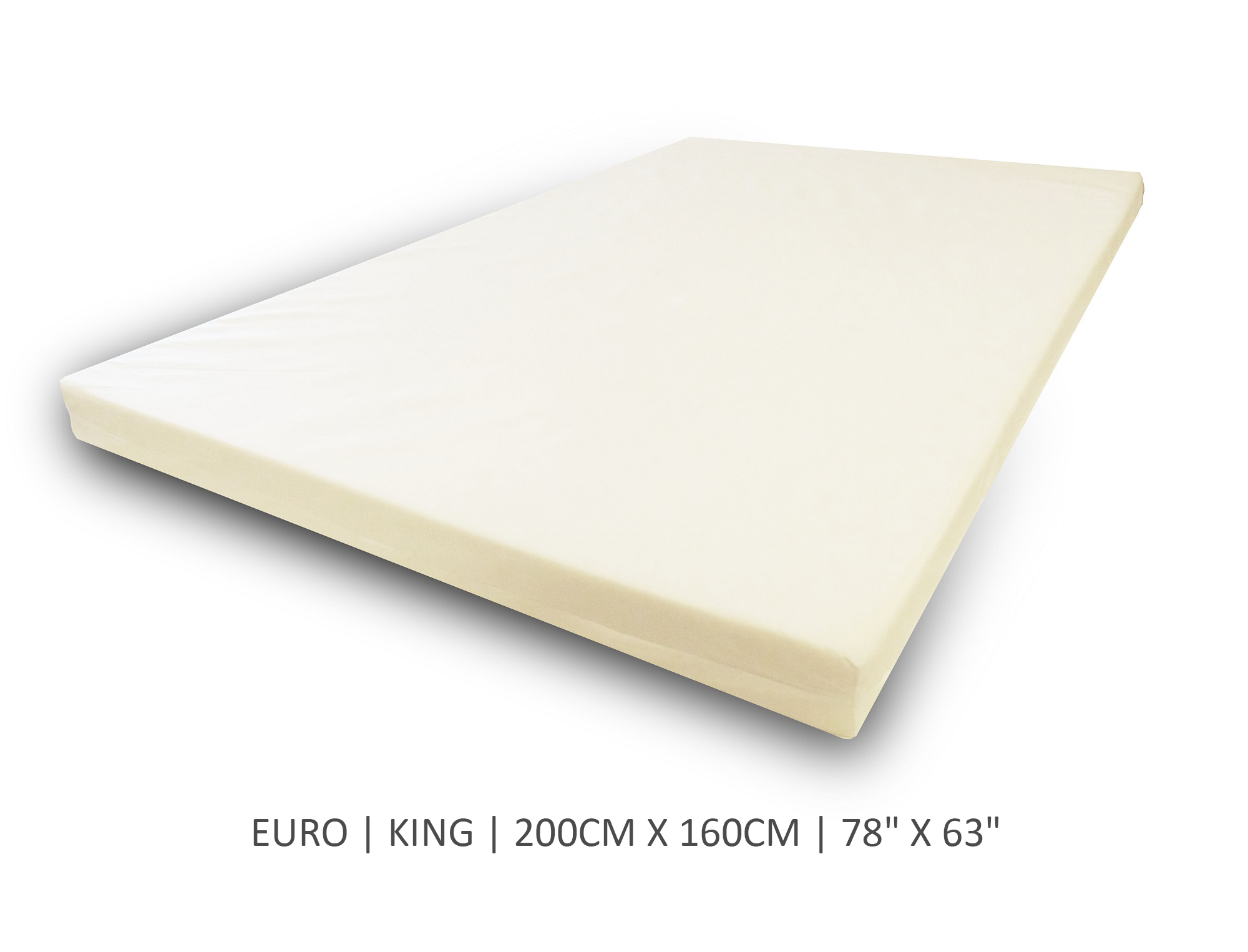 Euro King Size Mattress Topper Replacement Covers