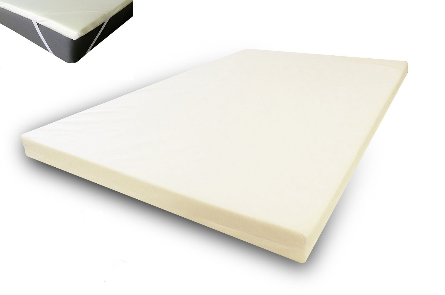 uk small double memory foam topper